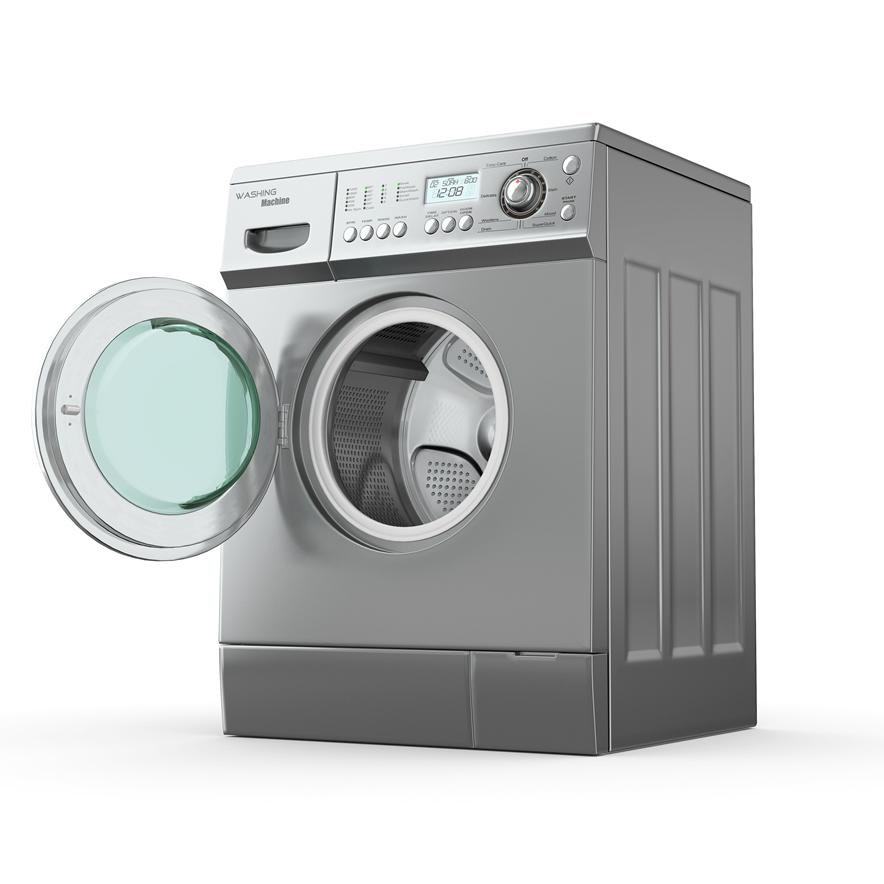 Washing machine using soft water